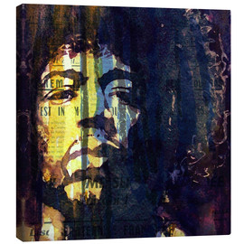 Leinwandbild  Hendrix : Winds Cry Mary Retro - Paul Lovering Arts