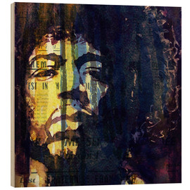 Holzbild  Hendrix: Winds Cry Mary Retro - Paul Lovering