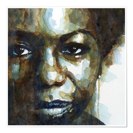 Poster  Nina Simone - Paul Paul Lovering Arts