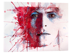 Acrylglasbild  The Prettiest Star : David Bowie - Paul Lovering Arts