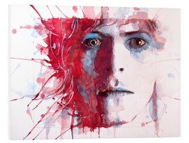 Hartschaumbild  The Prettiest Star : David Bowie - Paul Lovering Arts