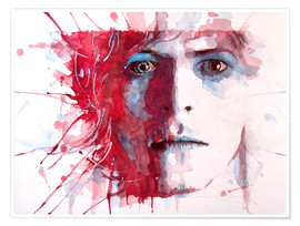 Premium-Poster  The Prettiest Star: David Bowie - Paul Lovering Arts