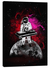 Leinwandbild  alternative space astronaut dj art - 2ToastDesign