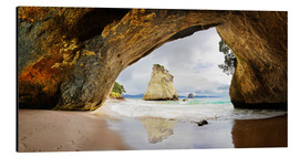 Alubild  Cathedral Cove - Neuseeland - Michael Rucker