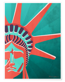 Premium-Poster  new York - Mark Ashkenazi