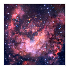 Premium-Poster Westerlund 2 Sternencluster in Carina-Nebel