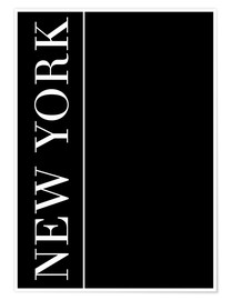 Premium-Poster NEW YORK | VERTICAL