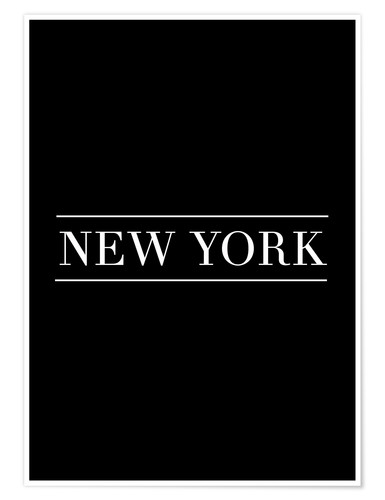 Premium-Poster NEW YORK | HORIZONTAL