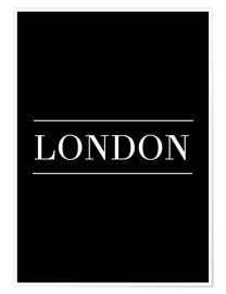 Premium-Poster LONDON | HORIZONTAL