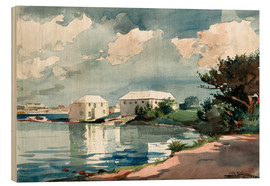 Holzbild  Salt Kettle, Bermuda - Winslow Homer