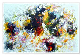Premium-Poster Colorful abstract
