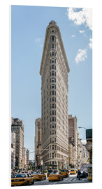 Forex  Flatiron Building mit Taxis - Matteo Colombo