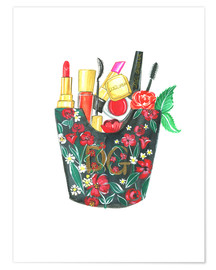 Premium-Poster  Make Up Bag - Rongrong DeVoe