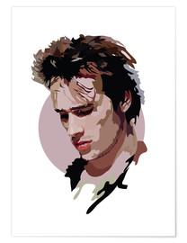 Poster  Jeff Buckley - Anna McKay