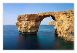 Premium-Poster Azure Window