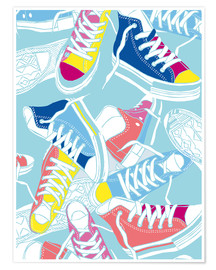 Premium-Poster  Sneakers Lovers - Nory Glory Prints