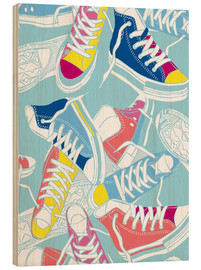Holzbild  Sneakers Lovers - Nory Glory Prints