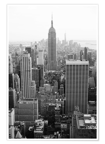 Premium-Poster Wolkenkratzer in New York City, USA