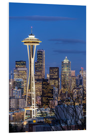 Hartschaumbild  Space Needle - Seattle - Thomas Klinder