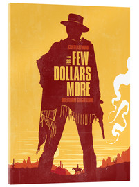 Obraz na szkle akrylowym  For a few dollars more - Golden Planet Prints