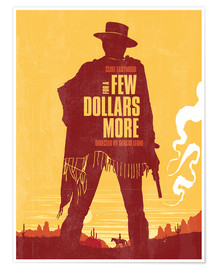 Premium-Poster For a few dollars more (englisch)