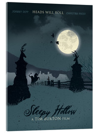 Acrylglasbild  Sleepy Hollow (Englisch) - Golden Planet Prints