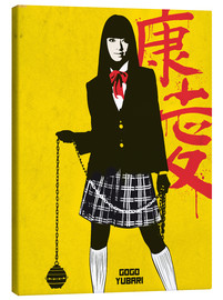 Leinwandbild  Gogo yubari kill bill movie inspired art - Golden Planet Prints