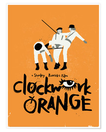 Premium-Poster Clockwork Orange