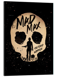 Acrylglas  Mad Max the road warrior movie inspired art - Golden Planet Prints