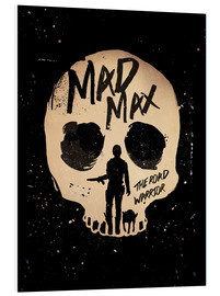 Hartschaumbild  Mad Max 2 - The road warrior - Golden Planet Prints