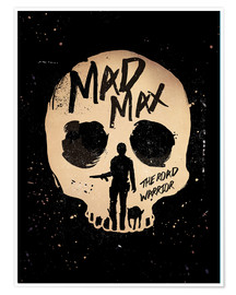 Premium-Poster  Mad Max 2 - The road warrior - Golden Planet Prints