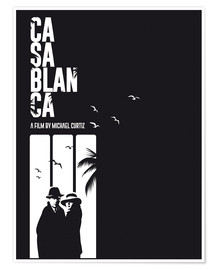 Premium-Poster  Casablanca - Golden Planet Prints