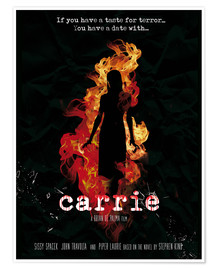 Premium-Poster  Carrie (Englisch) - Golden Planet Prints