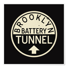 Poster  Battery Tunnel - Jaysanstudio