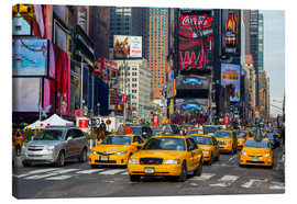 Leinwandbild  New York City Traffic - Thomas Klinder