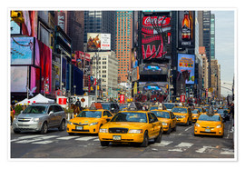 Premium-Poster  New York City Traffic - Thomas Klinder