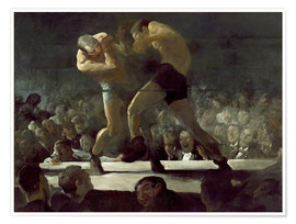 Premium-Poster  Club Night - George Wesley Bellows