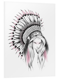 Forex  Indian Headdress Pink Version - LouJah