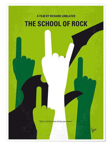 Premium-Poster The School Of Rock