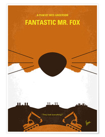 Premium-Poster Fantastic Mr. Fox