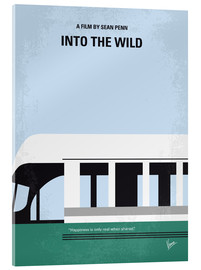 Acrylglas  Into the Wild minimal movie poster - chungkong
