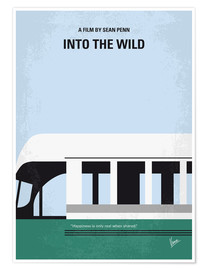 Premium-Poster  Into the Wild minimal movie poster - chungkong
