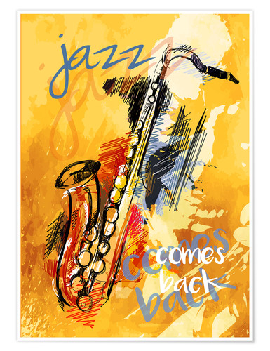 Premium-Poster jazz comes back