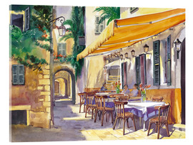 Acrylglas  Cafe Provence - Paul Simmons