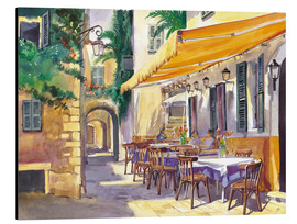 Alubild  Cafe Provence - Paul Simmons