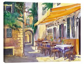 Leinwandbild  Cafe Provence - Paul Simmons