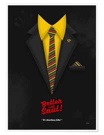 Premium-Poster Better Call Saul - Suit No. #1 - James Morgan