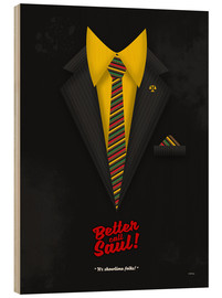 Holzbild  Better Call Saul - Suit No. #1 - James Morgan Jimmy McGill's Style. Fanart! - HDMI2K