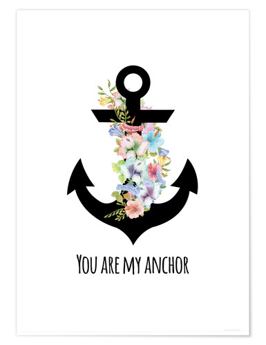 Premium-Poster you are my anchor