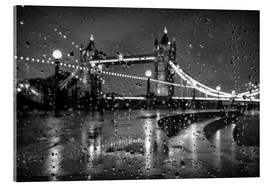 Acrylglasbild  Tower Tears London - Alex Saberi